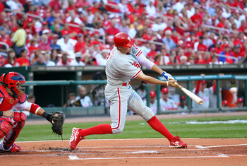 Hunter Pence is arguably the best hitter in the Phillies lineup.