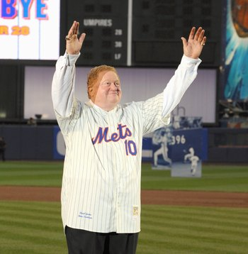Rusty Staub is one of the most popular Mets players of all time