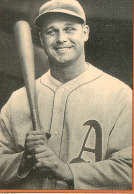 A very young Jimmie Foxx was able to watch Ty Cobb in his next to last season.