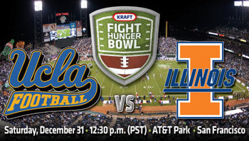 UCLA faces Illinois in the Kraft Fight Hunger Bowl