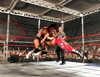 Bad Blood 2004: Triple H Defeated Shawn Michaels In The Hell In A Cell Siginfying The End Of Their Rivalry