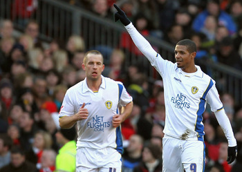 Jermaine Beckford's goal sunk United in a memorable FA cup derby win for Leeds at Old Trafford.