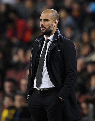 Guardiola, Barcelona Manager