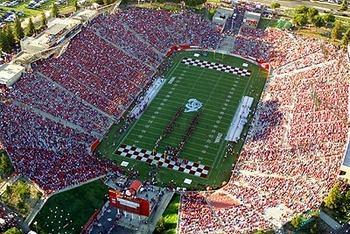 The game took place at Fresno State's Bulldog Stadium.