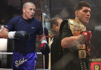 Will GSP and Nick Diaz finally go to battle in 2012?