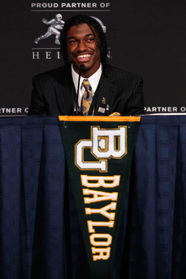 Heisman Trophy Winner Robert Griffin III at a Heisman Press Conference
