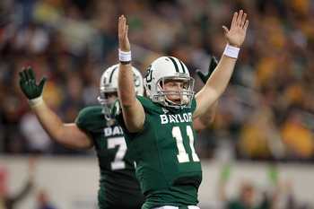 Backup QB Nick Florence Faces Texas Tech After Griffin is Injured.