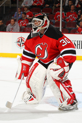 The Devils greatest goaltender has been in the situation before