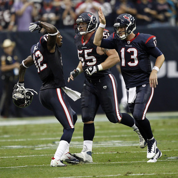 Even with third-string QB TJ Yates being forced into action, the Texans have locked up the AFC South.