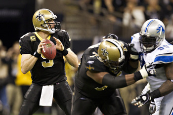 Drew and the Saints will be preparing for a playoff run now