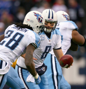 It's been a rough road for the Titans in 2011, and it won't get easier