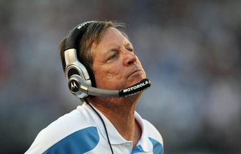 Keep grimacing, Norv, because it's all over now