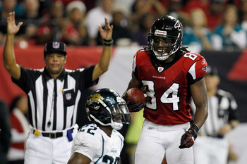 Roddy White is having another magnificent season for the Falcons