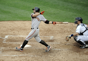 Ross was the unexpected MVP of the 2010 NLCS; he hit five post season HR.