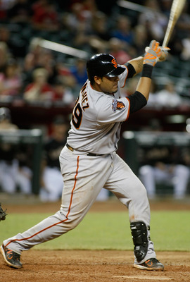 Hector Sanchez could make the Giants' roster this spring