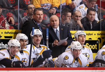 Barry Trotz could win the Jack Adams Award every year for getting this bargain team to the playoffs