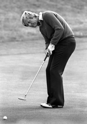 """Nicklaus played a game with which I am not familiar.""---Bobby Jones"