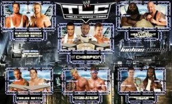 WWE TLC 2011 Match Card