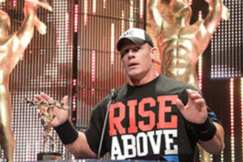 John Cena at the 2011 Slammy Awards.