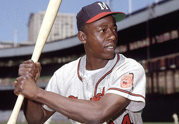 Hank Aaron is the biggest icon in franchise history.