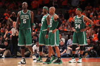 Kevin Garnett, Jermaine O'Neal, Ray Allen, Paul Pierce