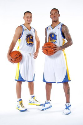 Stephen Curry and Monta Ellis