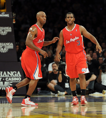 Chauncey Billups and Chris Paul