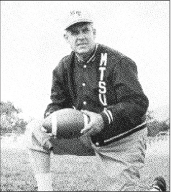Charles Murphy coached Middle Tennessee from 1947 through 1968.