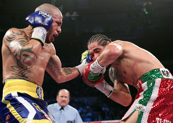 Miguel Cotto scored an emotional signature victory over Antonio Margarito in New York City in December