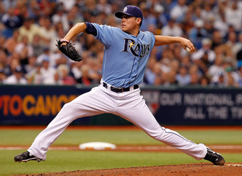 Matt Moore was lights out in his limited time in the MLB in '11.