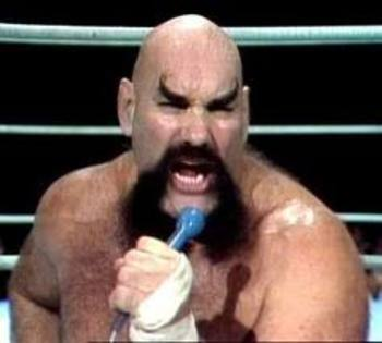 Ox Baker and his manly beard