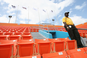 The past of empty seats and losing ways should be behind the Marlins in future years as they compete for the Pennant and Championship