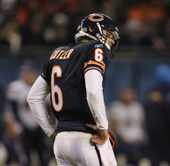 Injury curtailed one of Cutler's most effective seasons in the pros...