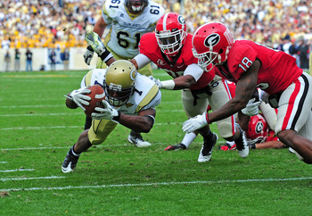 The Bulldogs pounced on rival Georgia Tech this year closing out as East champions.  Could they be in for a pre-season Top 10 in 2012?