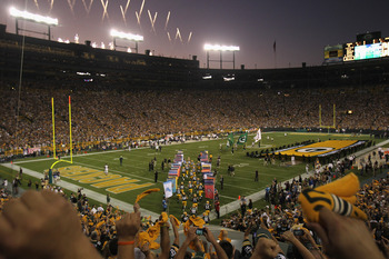 Welcome to Lambeau Field.