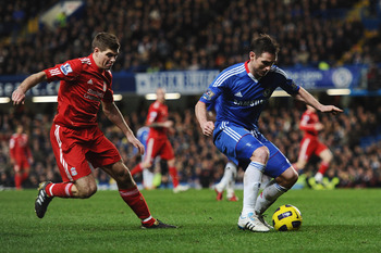 Gerrard and Lampard are completely different players