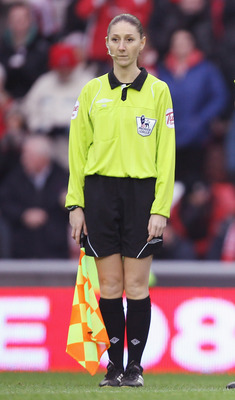Sian Massey was the female official