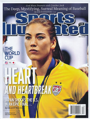 Hope Solo Top 10 Moments of Brandi Chastain Sports Illustrated