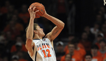 Meyers Leonard will need to rise above the crowd for the Illini