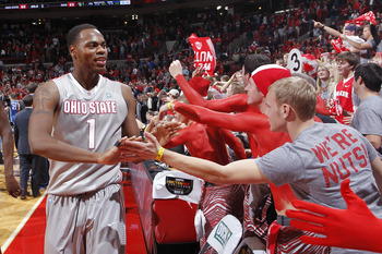 Life is good for Deshaun Thomas and the Buckeyes