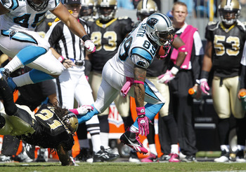 Cam Newton's favorite target, Steve Smith (89)