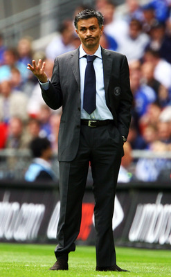 Jose during the '07 FA Cup Final