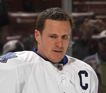 Captain Dion Phaneuf is also the quarterback of the power play, and needs to be instrumental in its resurrection
