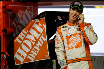 Can Logano live up to the pressure of driving for JGR?