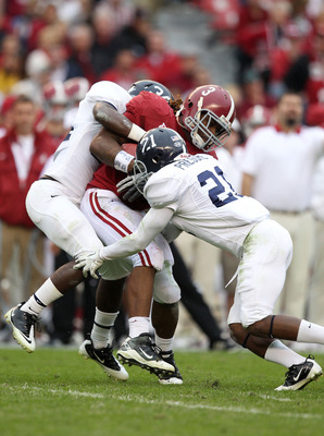 Alabama's last FCS opponent, Georgia Southern, brought a unique challenge to Bryant-Denny Stadium. The Eagles scored more points on the Alabama defense than any other team in the 2011 regular season.
