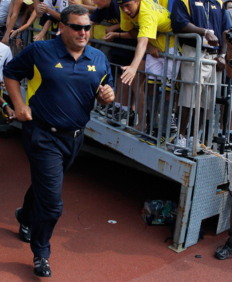 The Michigan fans finally have a Michigan man at the helm in Brady Hoke. He will take his team to Cowboys Stadium to open the 2012 season to coach his first game against an SEC opponent.