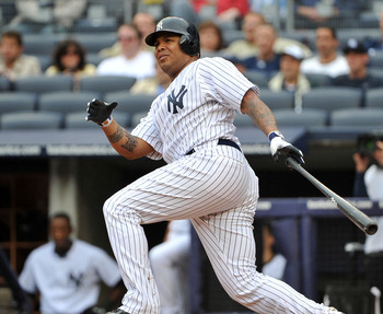 Andruw Jones flashed impressive power in New York in 2011.