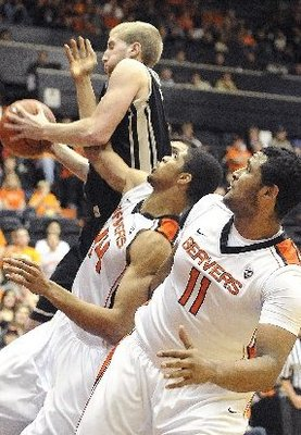 OSU fell to Idaho 74-60 on December 9th