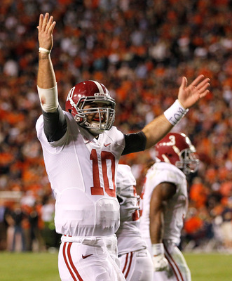 This is McCarron's chance for the same kind of legacy that Greg McElroy earned while he was here.