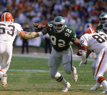Nobody could slow down Reggie White.